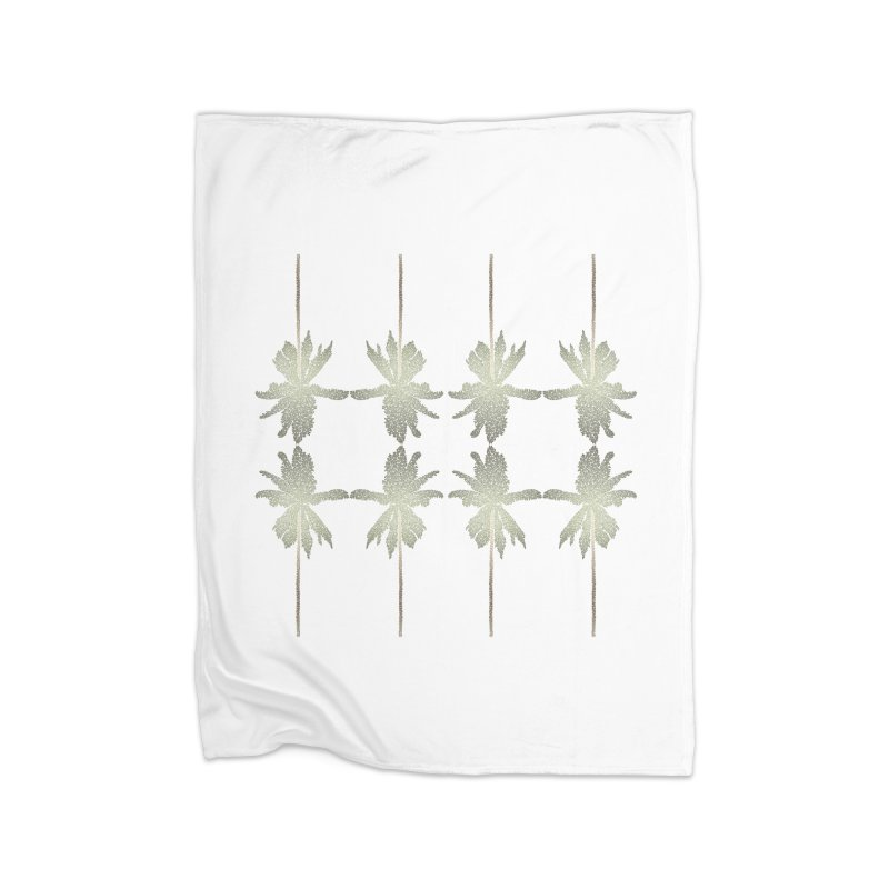 Palm Brush Morning Home Blanket by Daniel Dugan's Artist Shop