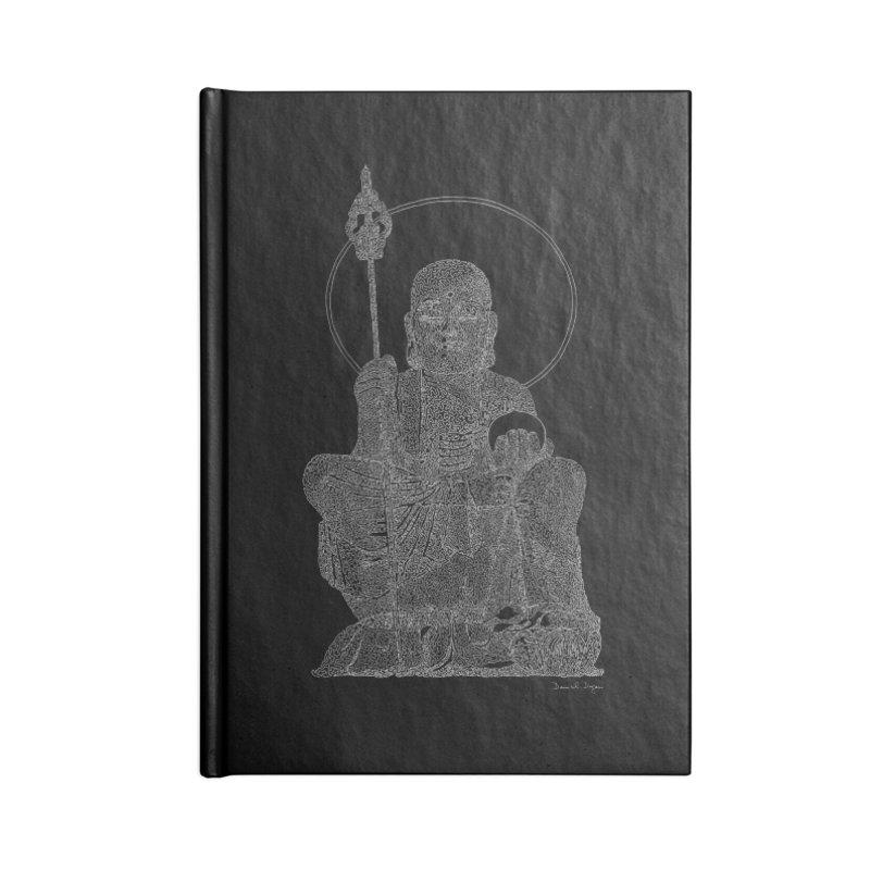 Ksitigarbha (For Dark Background) Accessories Notebook by Daniel Dugan's Artist Shop
