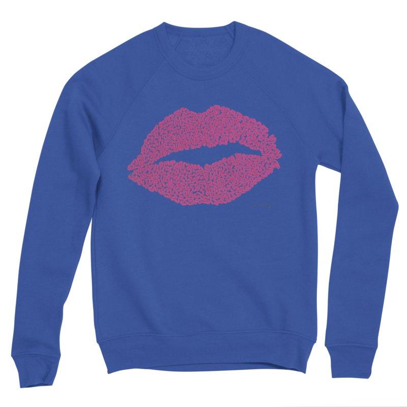 Kisses Are the Answer Men's Sweatshirt by Daniel Dugan's Artist Shop