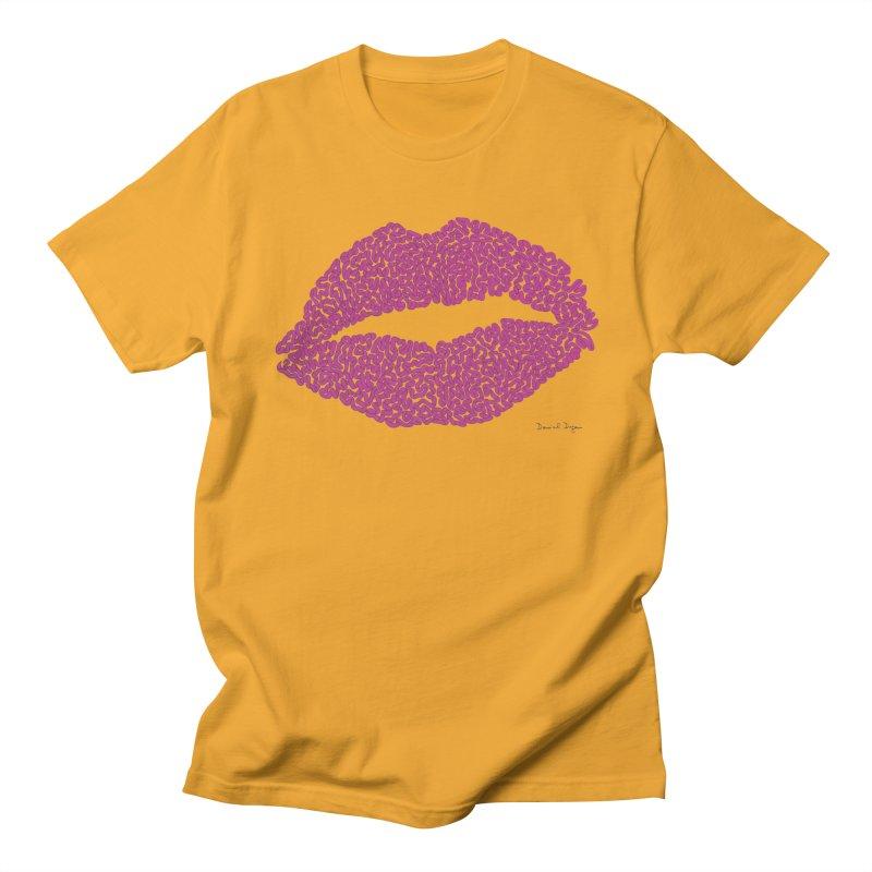 Kisses Are the Answer Women's T-Shirt by Daniel Dugan's Artist Shop