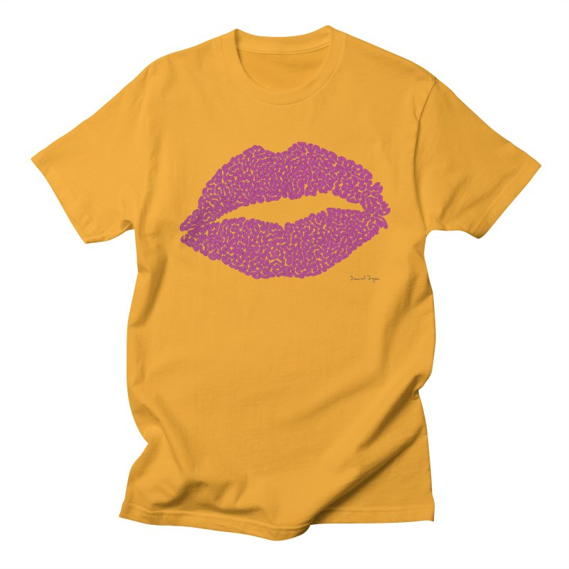 Kisses Are the Answer Women's T-Shirt by Daniel Dugan's Artist Shop
