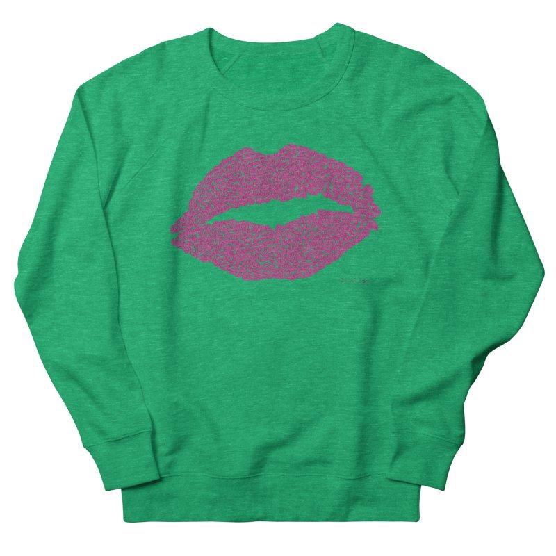 Kisses Are the Answer Women's Sweatshirt by Daniel Dugan's Artist Shop
