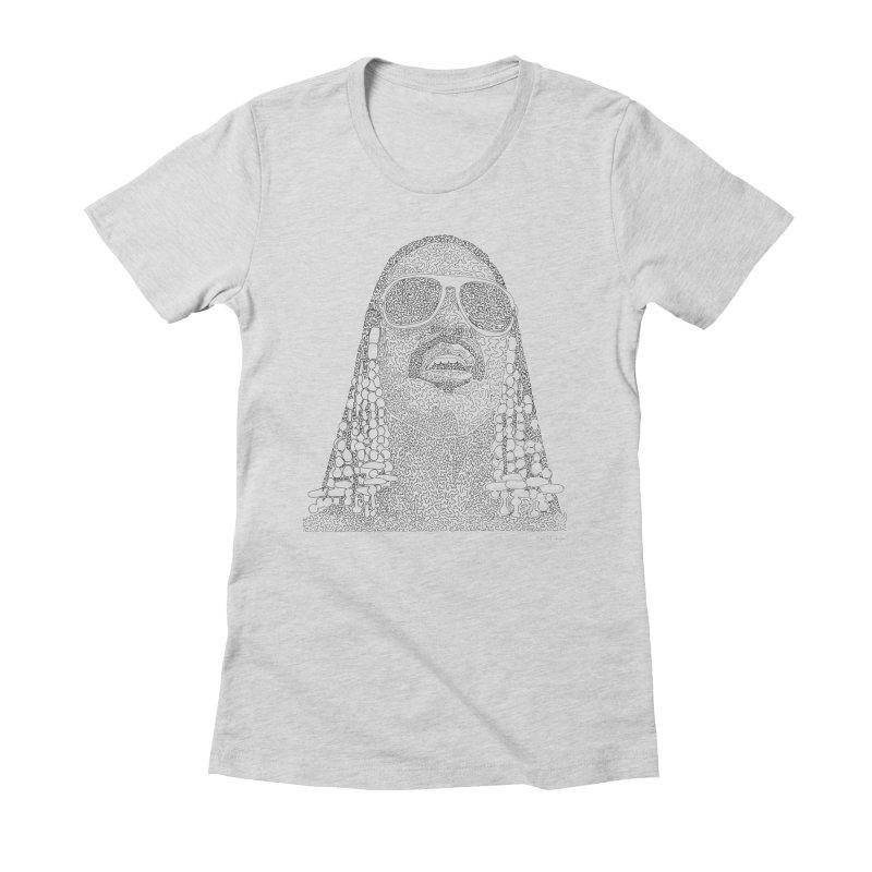 Stevie Wonder (one continuous line)   by Daniel Dugan's Artist Shop