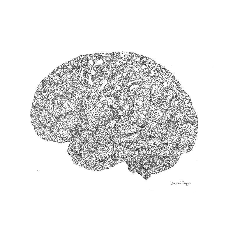 Brain Work by Daniel Dugan's Artist Shop