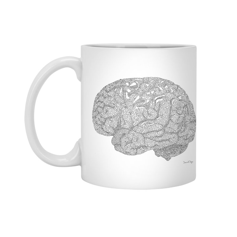 Brain Work Accessories Mug by Daniel Dugan's Artist Shop