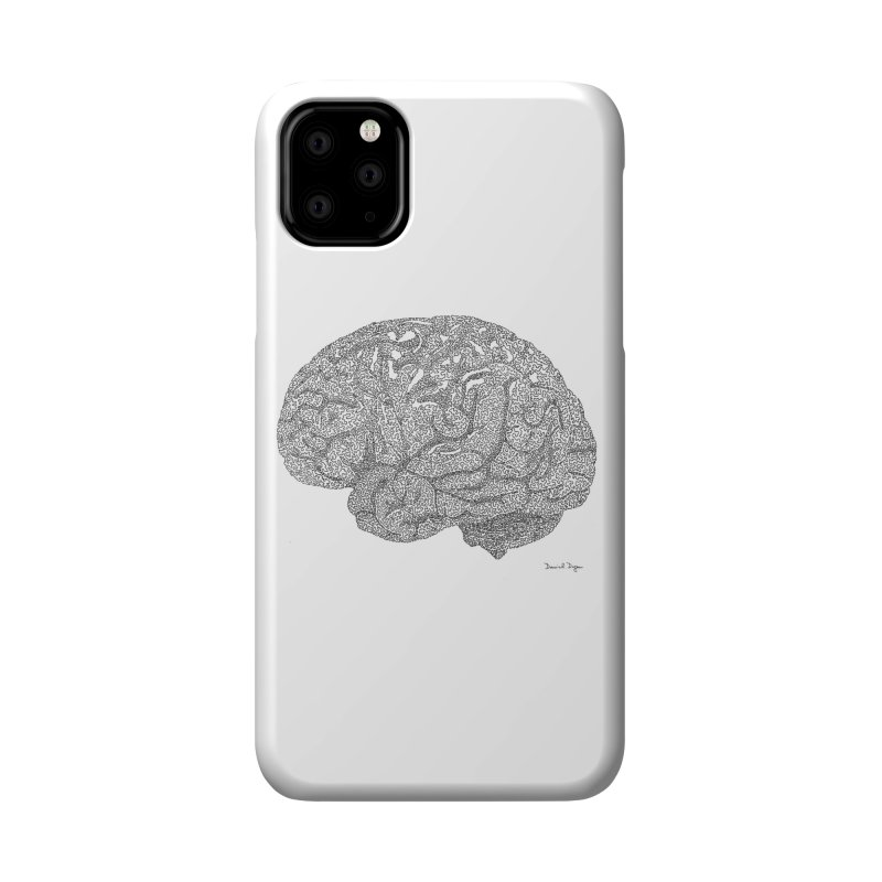 Brain Work Accessories Phone Case by Daniel Dugan's Artist Shop