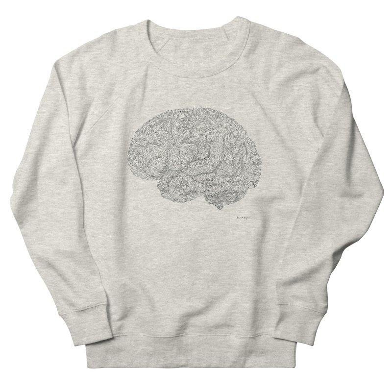 Brain Work Men's Sweatshirt by Daniel Dugan's Artist Shop