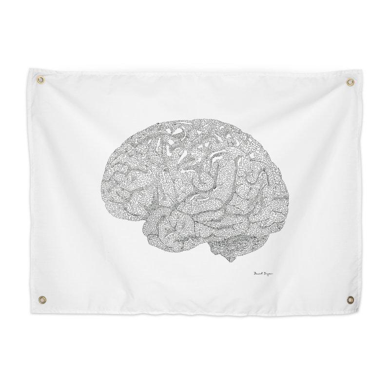 Brain Work Home Tapestry by Daniel Dugan's Artist Shop