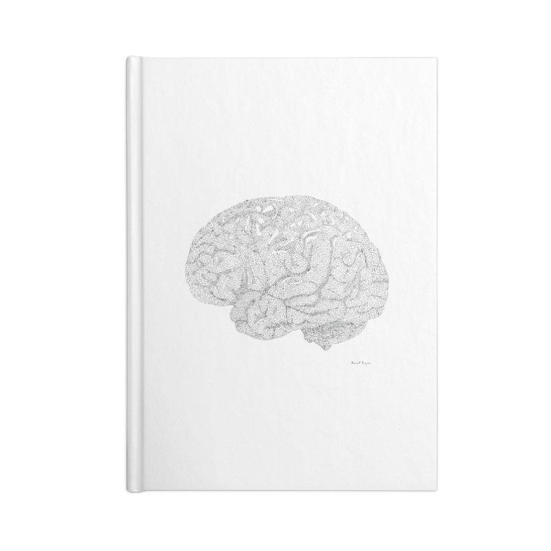 Brain Work Accessories Notebook by Daniel Dugan's Artist Shop
