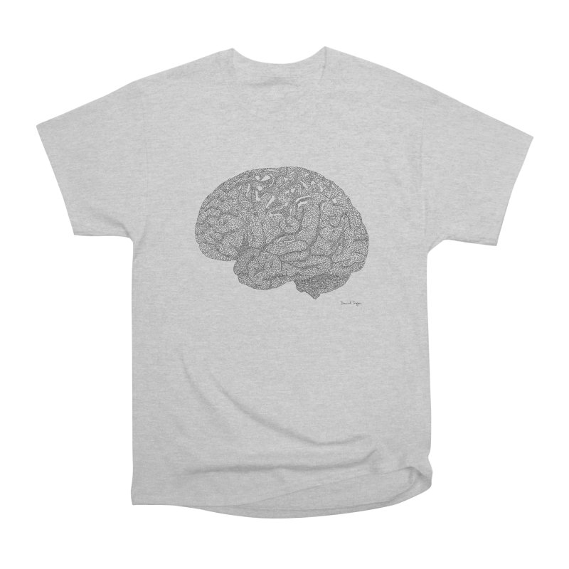 Brain Work Women's Heavyweight Unisex T-Shirt by Daniel Dugan's Artist Shop