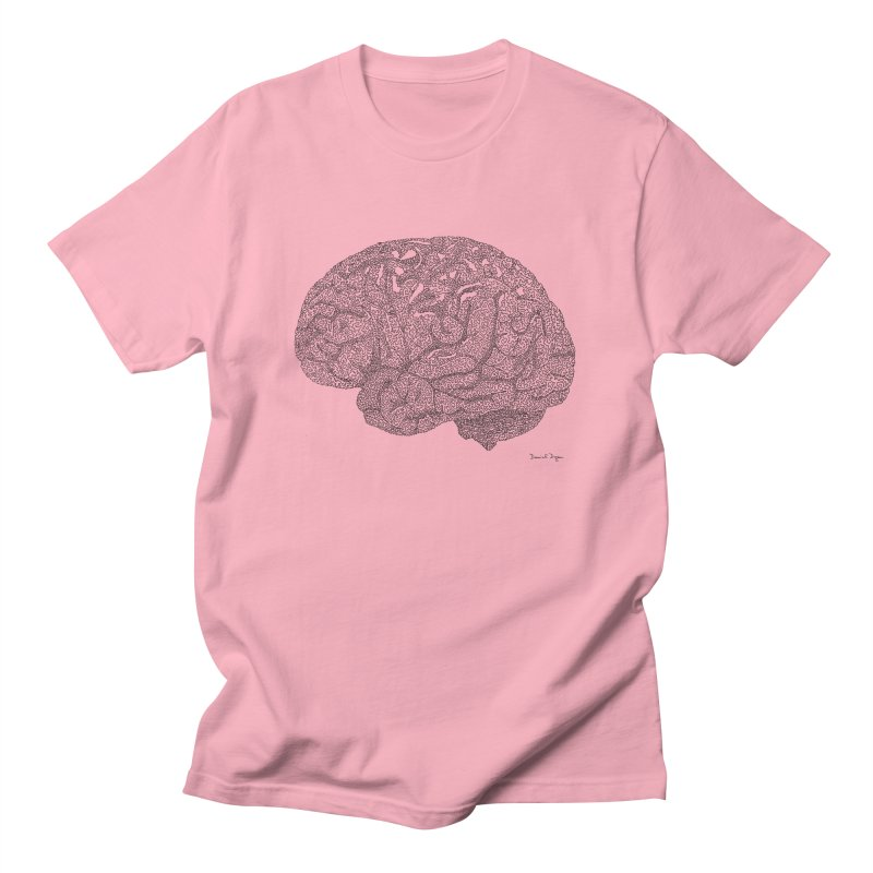 Brain Work Women's Regular Unisex T-Shirt by Daniel Dugan's Artist Shop