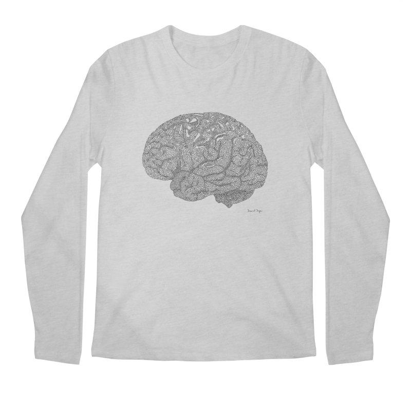 Brain Work Men's Longsleeve T-Shirt by Daniel Dugan's Artist Shop