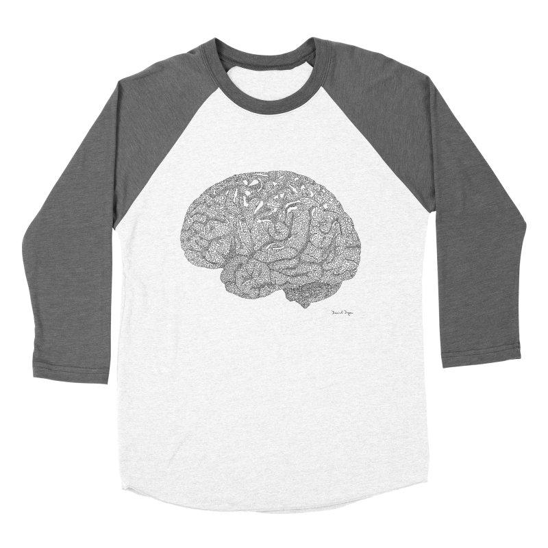 Brain Work Women's Longsleeve T-Shirt by Daniel Dugan's Artist Shop