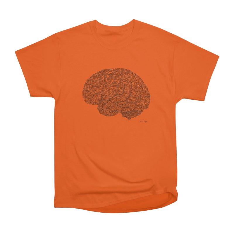 Brain Work Men's Heavyweight T-Shirt by Daniel Dugan's Artist Shop