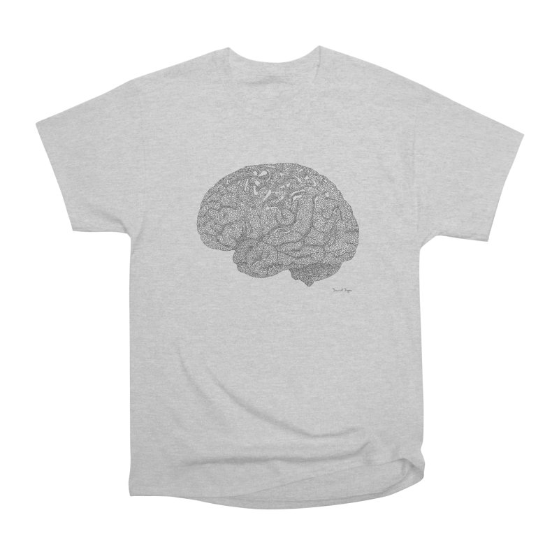Brain Work Men's Heavyweight T-Shirt by Daniel Dugan's Artist Shop
