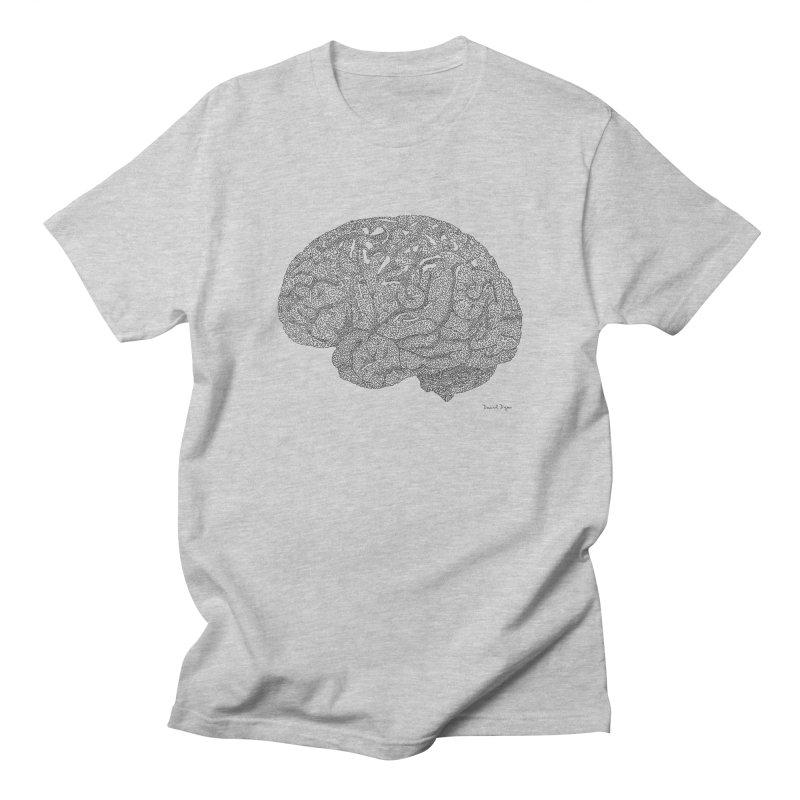 Brain Work Women's Regular Unisex T-Shirt by Daniel Dugan's Artist Shop