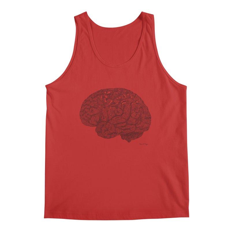 Brain Work Men's Regular Tank by Daniel Dugan's Artist Shop