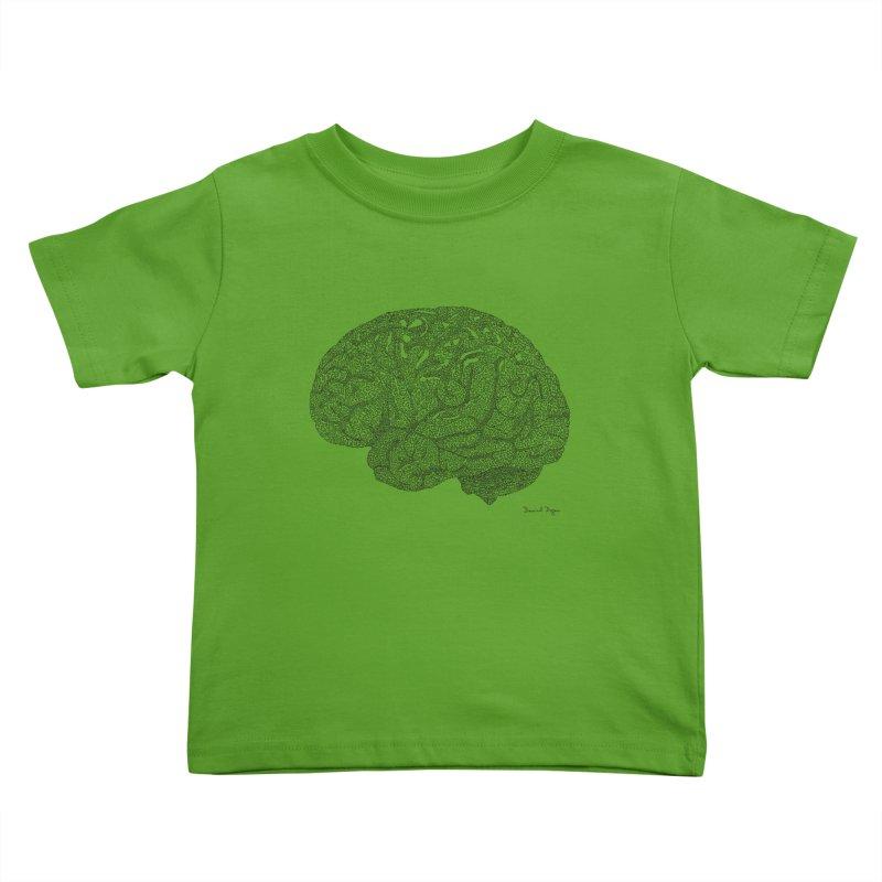 Brain Kids Toddler T-Shirt by Daniel Dugan's Artist Shop