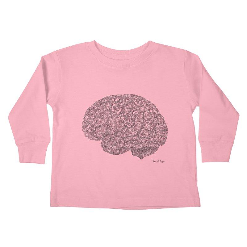Brain Kids Toddler Longsleeve T-Shirt by Daniel Dugan's Artist Shop