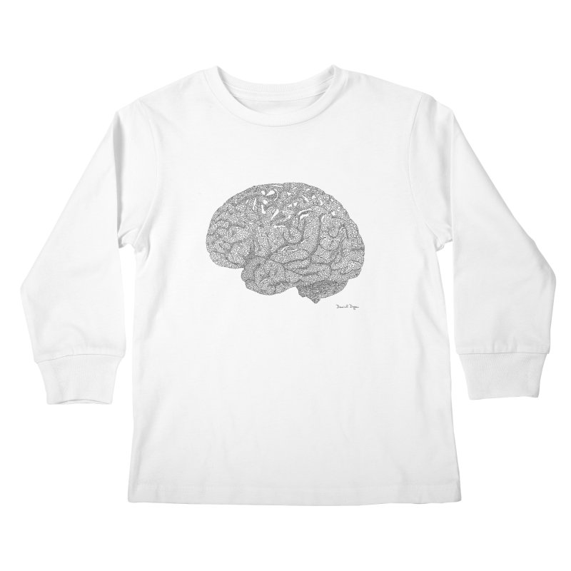 Brain Kids Longsleeve T-Shirt by Daniel Dugan's Artist Shop