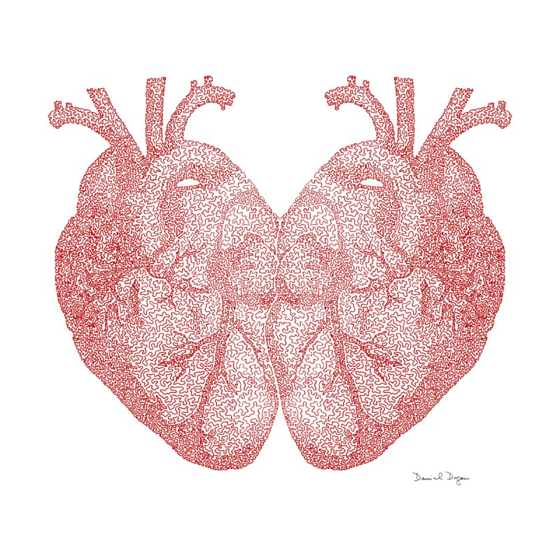 Heart to Heart None  by Daniel Dugan's Artist Shop
