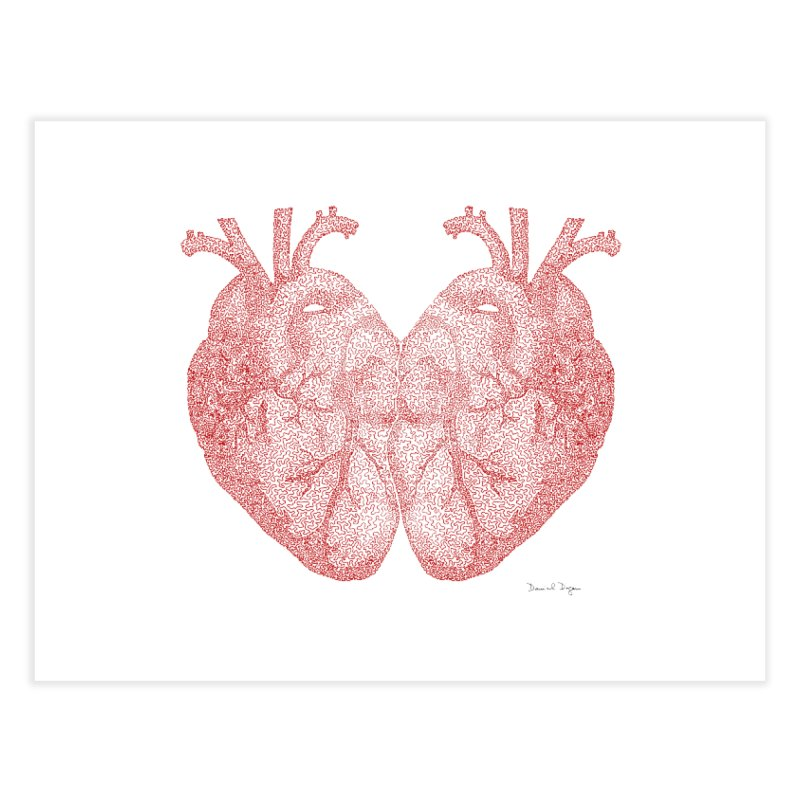 Heart to Heart Home Fine Art Print by Daniel Dugan's Artist Shop