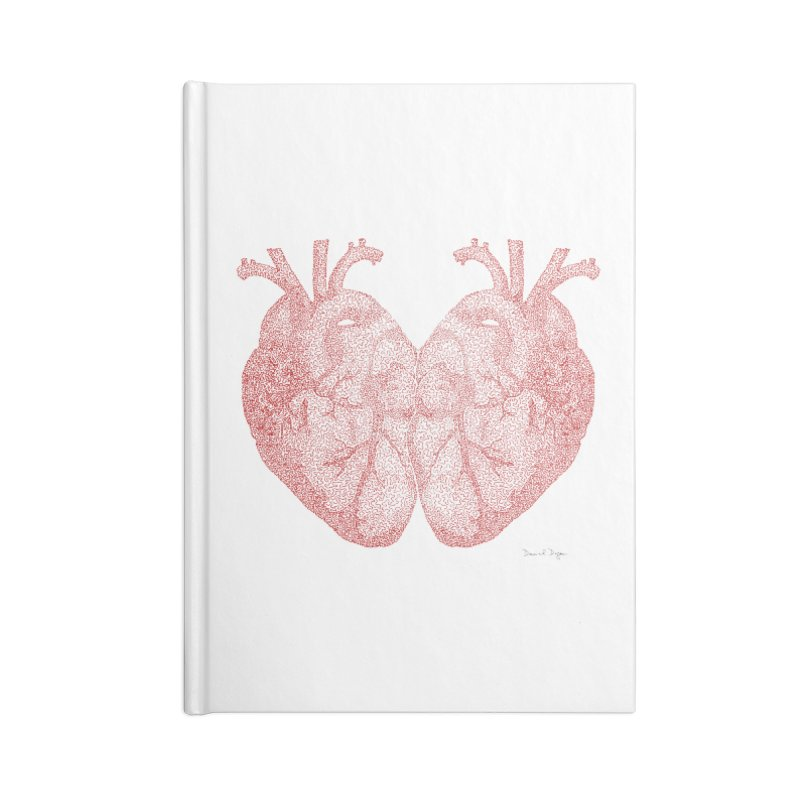 Heart to Heart Accessories Notebook by Daniel Dugan's Artist Shop