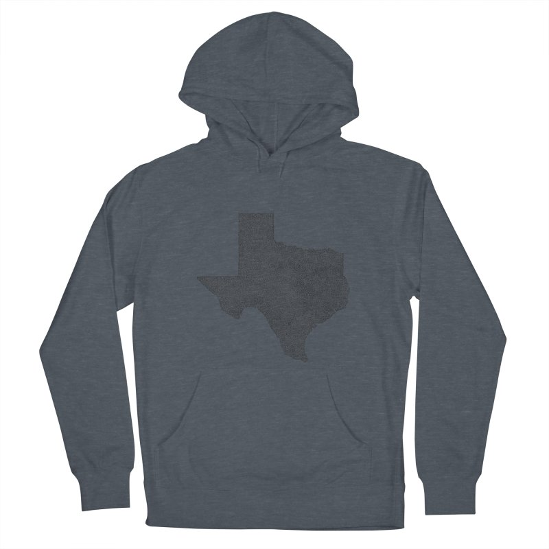 Texas -  Once Continuous Line Women's Pullover Hoody by Daniel Dugan's Artist Shop