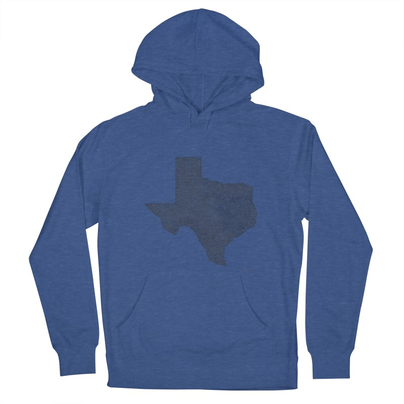 Texas -  Once Continuous Line Men's Pullover Hoody by Daniel Dugan's Artist Shop