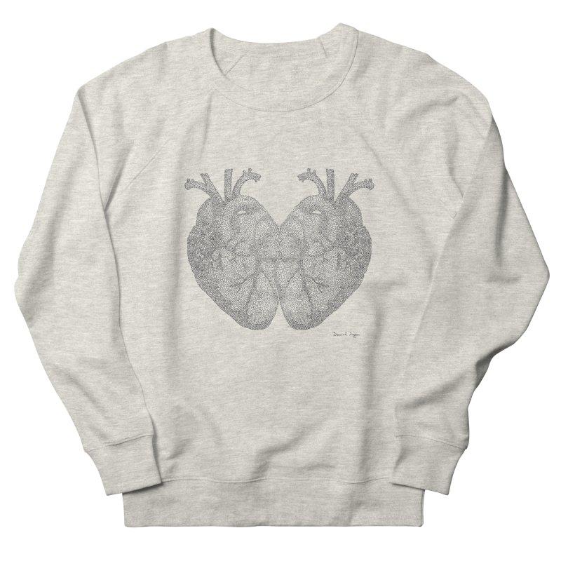 Heart to Heart Men's Sweatshirt by Daniel Dugan's Artist Shop