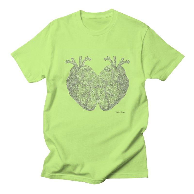 Heart to Heart Women's Regular Unisex T-Shirt by Daniel Dugan's Artist Shop