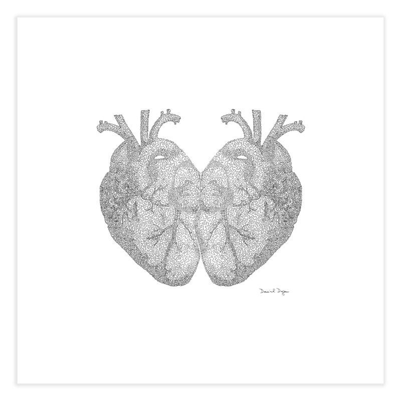 Heart to Heart Home Fine Art Print by Daniel Dugan's Artist Shop