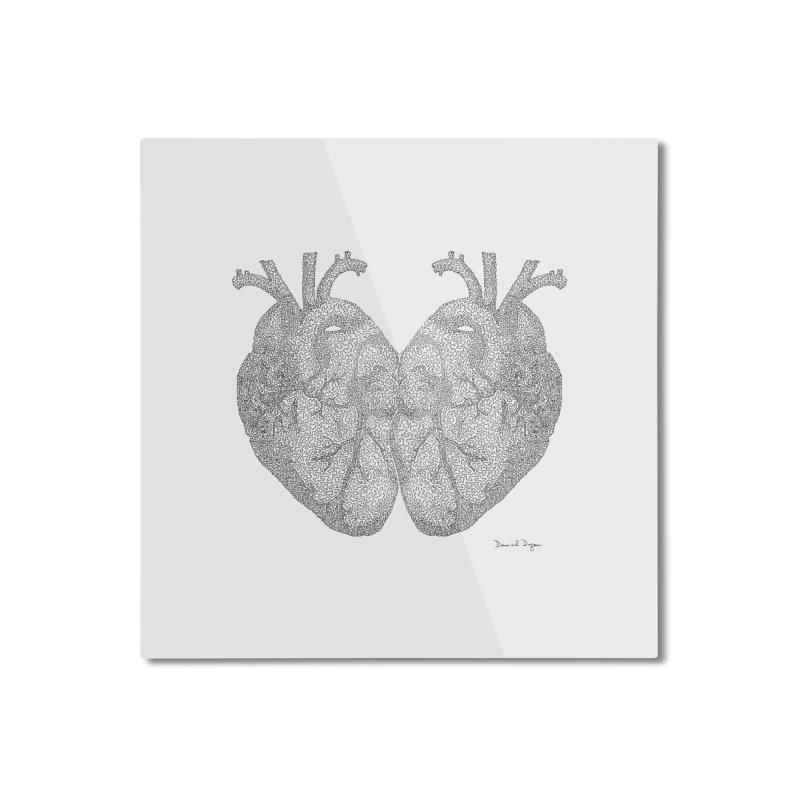 Heart to Heart Home Mounted Aluminum Print by Daniel Dugan's Artist Shop