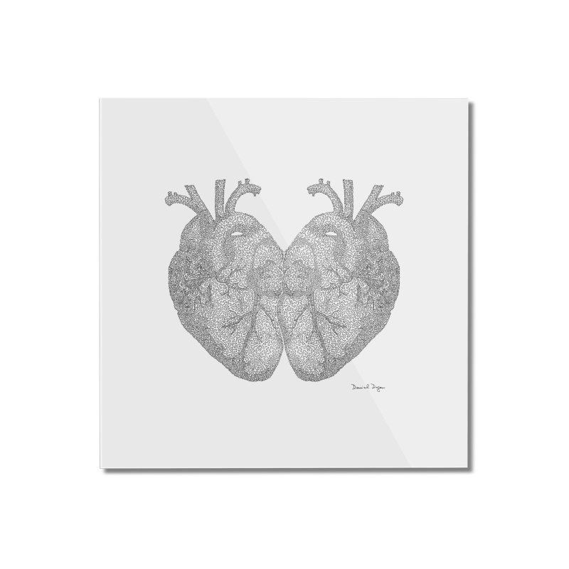 Heart to Heart Home Mounted Acrylic Print by Daniel Dugan's Artist Shop