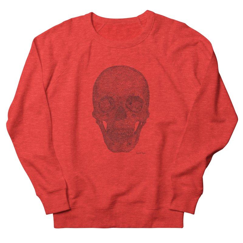 Skull Women's Sweatshirt by Daniel Dugan's Artist Shop