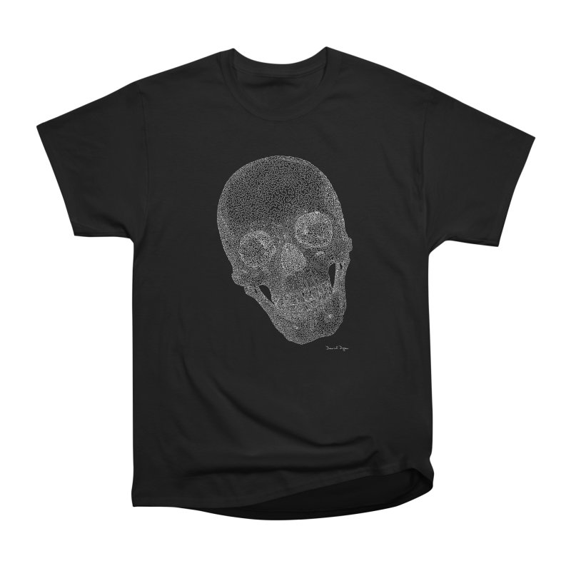 Skull Cocked (For Dark Backgrounds Men's T-Shirt by Daniel Dugan's Artist Shop