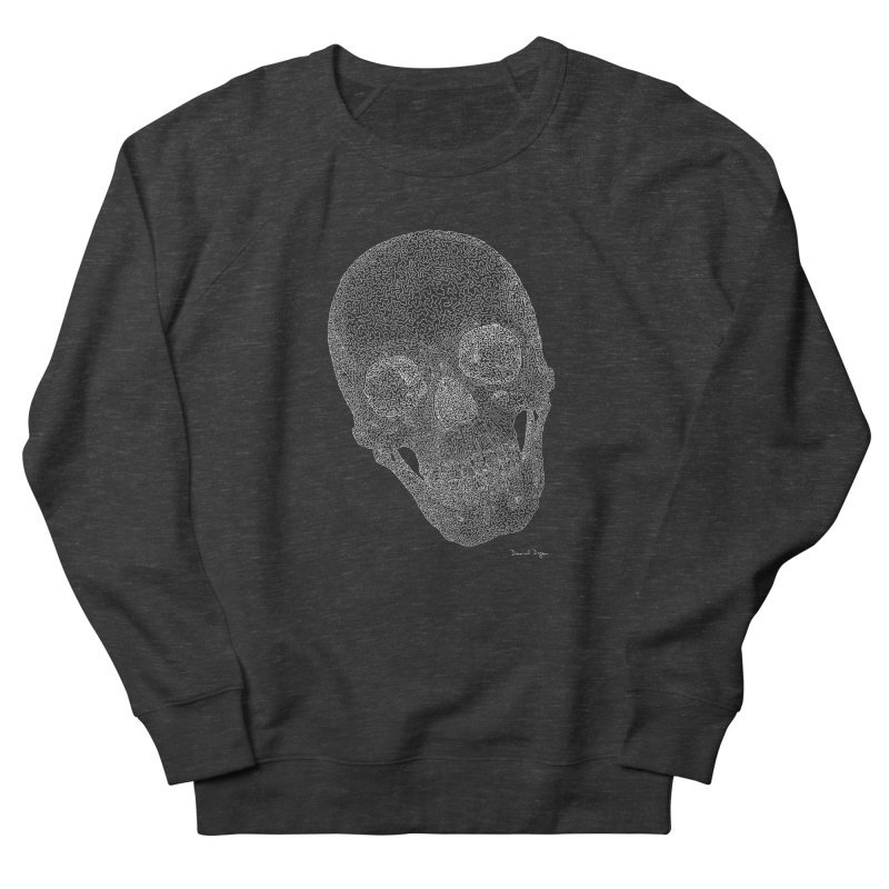 Skull Cocked (For Dark Backgrounds Men's Sweatshirt by Daniel Dugan's Artist Shop