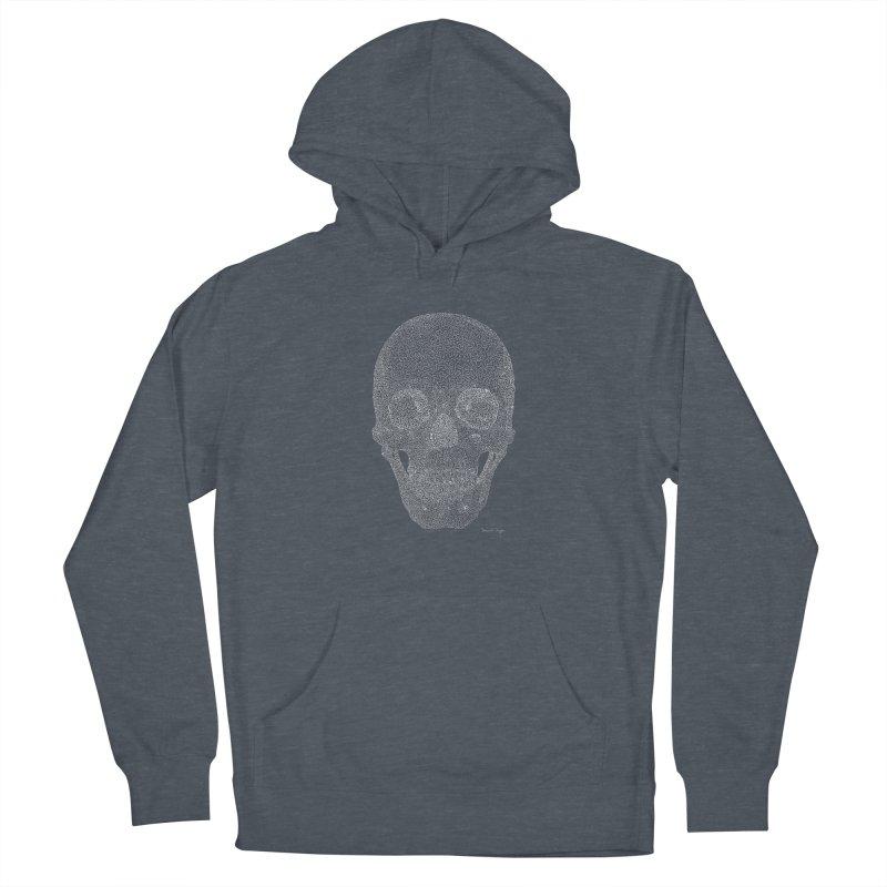 Skull (For Dark Backgrounds) Women's Pullover Hoody by Daniel Dugan's Artist Shop