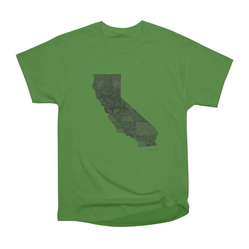 California - One Continuous Line Women's Classic Unisex T-Shirt by Daniel Dugan's Artist Shop