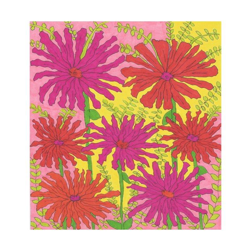 Spring Sunshine Floral Home Mounted Acrylic Print by DanielleFinolaLifestyle's Artist Shop