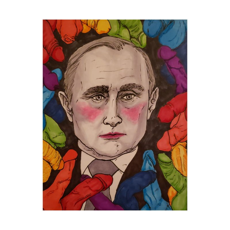 Putin In The Dicks Men's T-Shirt by Ink.Witchery
