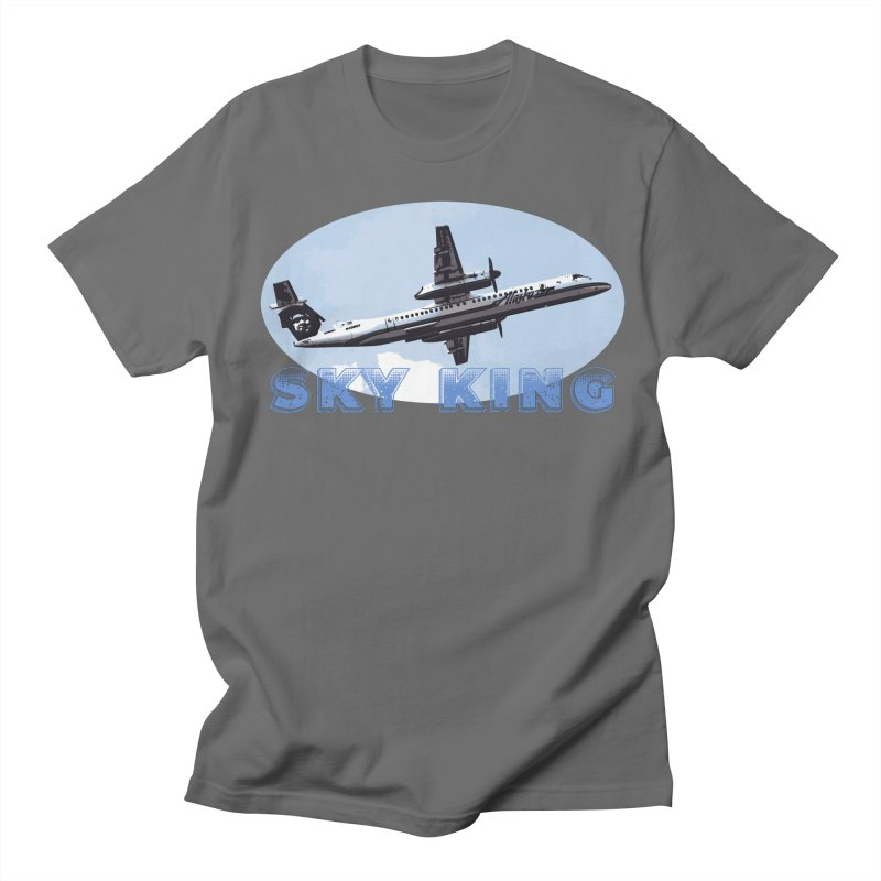 Sky King (Dark Colors) Men's T-Shirt by Enemy of the State's Dank Pod-Shop