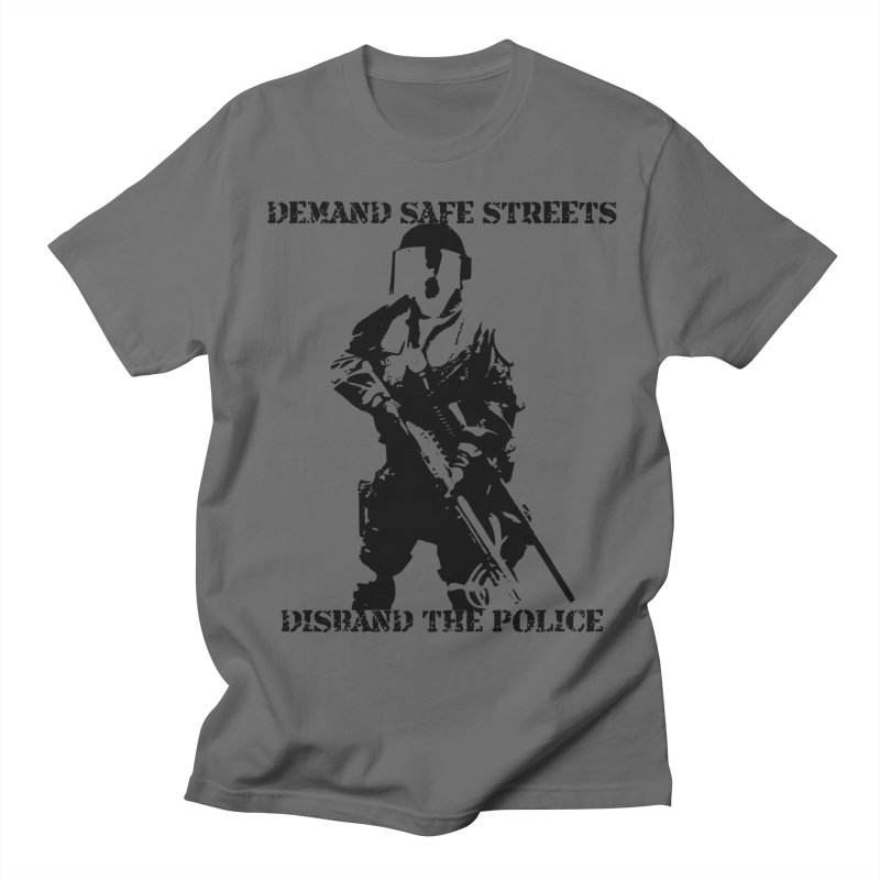 Disband the Police (Light Colors) Men's T-Shirt by Enemy of the State's Dank Pod-Shop