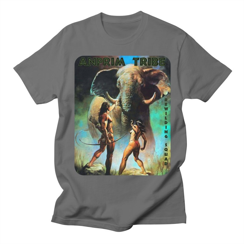 AnPrim Tribe Rewilding Squad Men's T-Shirt by Enemy of the State's Dank Pod-Shop