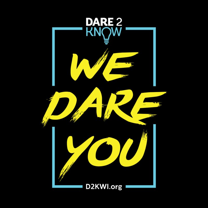 Dare2Know Vertical Blue Outline by Dare2Know Store