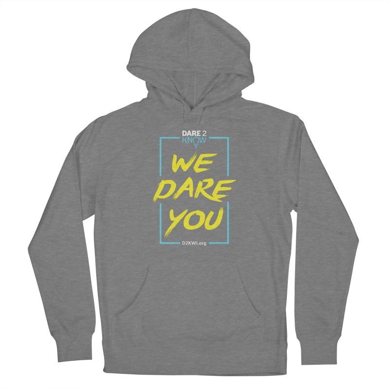 Dare2Know Vertical Blue Outline Men's Pullover Hoody by Dare2Know Store