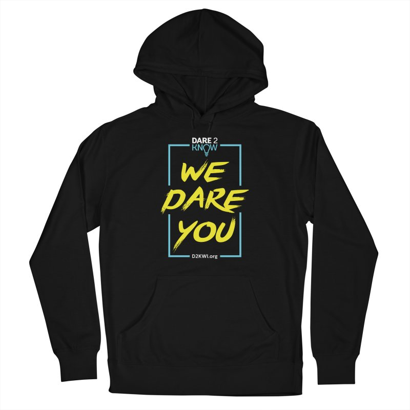 Dare2Know Vertical Blue Outline Women's Pullover Hoody by Dare2Know Store
