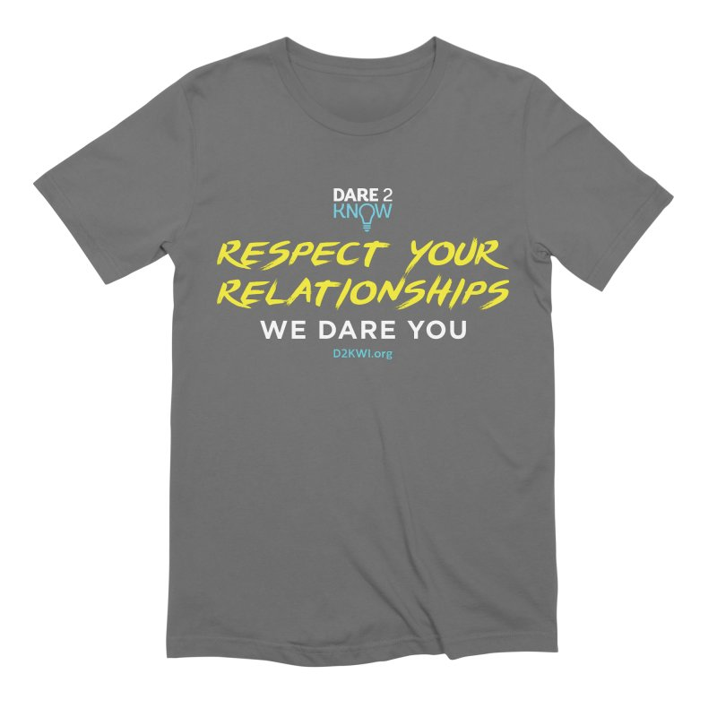 Dare2Know Square Men's T-Shirt by Dare2Know Store