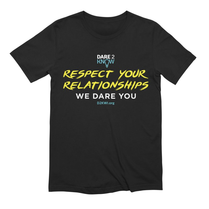 Dare2Know Square Men's Extra Soft T-Shirt by Dare2Know Store