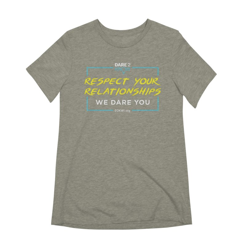Dare2Know Square Blue Outline Women's Extra Soft T-Shirt by Dare2Know's Artist Shop